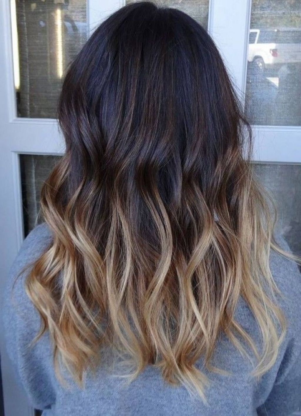 Ombre Hair Color For Medium Hair Medium Hair Ombre Highlights Inspiration Women Hairstyle Trendy
